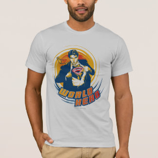 Supermann-Weltheld T-Shirt