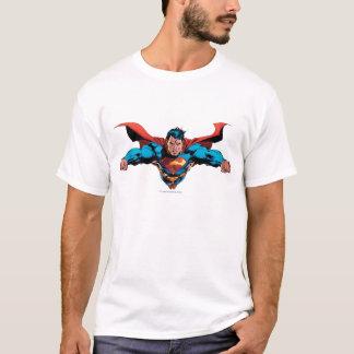 Supermannkap fliegt T-Shirt