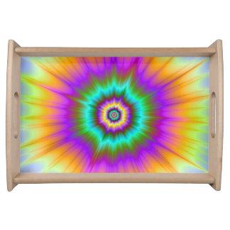 Supernova im FarbServiertablett Tablett