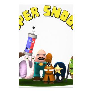 SuperSchnüffler-jr.-Detektive Briefpapier