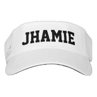 Superstar personalisiert visor