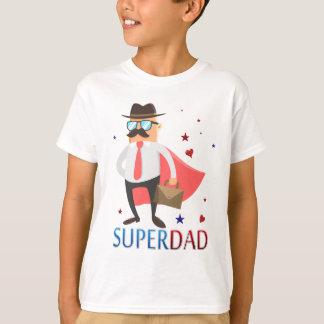 Supervati mit einem niedlichen Held-Charakter T-Shirt