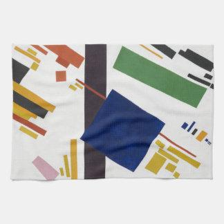 Suprematist Zusammensetzung durch Kazimir Malevich Küchentuch