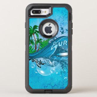 Surfen OtterBox Defender iPhone 8 Plus/7 Plus Hülle