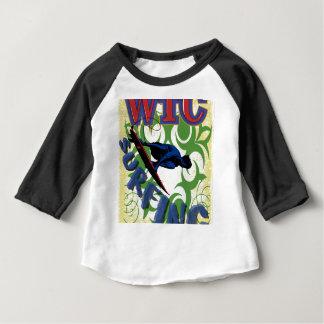 Surfen Stammes- Baby T-shirt