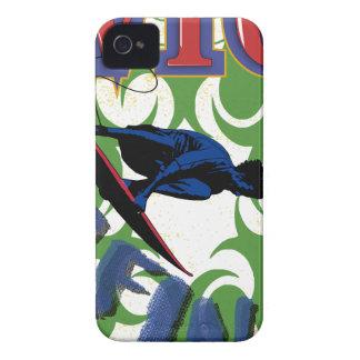 Surfen Stammes- iPhone 4 Case-Mate Hülle