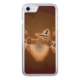 Surfen, Surfboarder Carved iPhone 8/7 Hülle