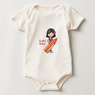 Surfer-Baby Baby Strampler
