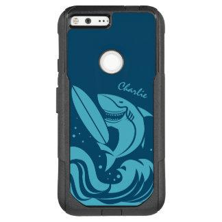 Surfer-Haifisch-Name-Telefon-Hüllen OtterBox Commuter Google Pixel XL Hülle