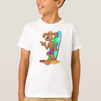 Surfer-Hund T-Shirt
