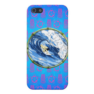 Surfer im Bambuskreis iPhone 5 Etui