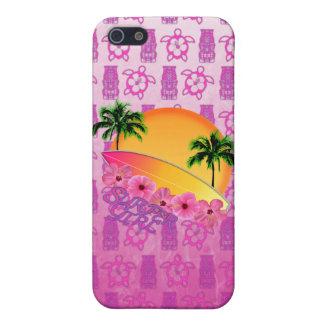 Surfer-Mädchen iPhone 5 Hülle