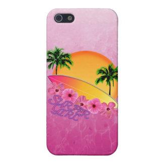 Surfer-Mädchen iPhone 5 Schutzhülle