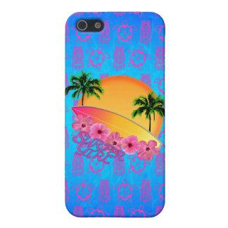 Surfer-Mädchen Schutzhülle Fürs iPhone 5