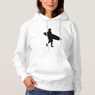 Surfer-Silhouette Hoodie