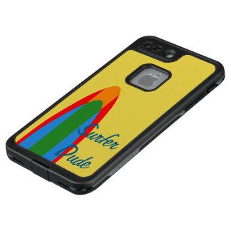 Surfer-Typ-Zellen-Telefon-Kasten-surfendes Thema LifeProof FRÄ' iPhone 7 Plus Hülle