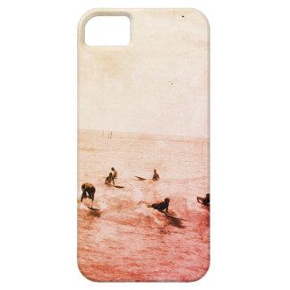 Surfers auf Waikiki setzen, Hawaii, Zwanzigerjahre iPhone 5 Schutzhülle