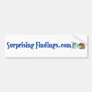 SurprisingFindings Autoaufkleber