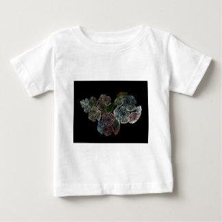 Surreal Fraktal-Blumen Baby T-shirt