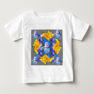 SURREALE GOLDfische U. BLAUE SCHMETTERLINGS-GRAFIK Baby T-shirt