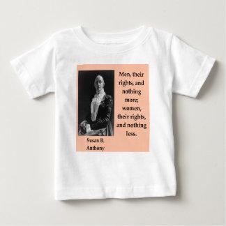 Susan b Anthony Baby T-shirt