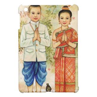 Süße asiatische Paare Hüllen Für iPad Mini