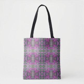 Süße Erbsen-Blumen-Fraktal-Taschen-Tasche