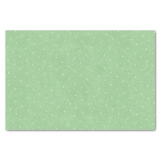 Süße Erbsen-Tee-Geburtstags-er-grün Tupfen Seidenpapier