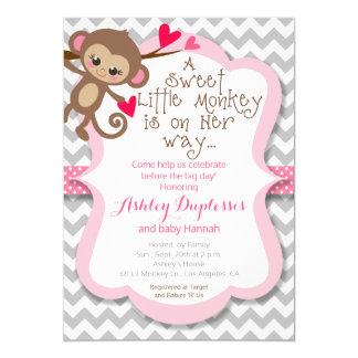 Affe Babyparty Einladungen | Zazzle.at, Einladungsentwurf