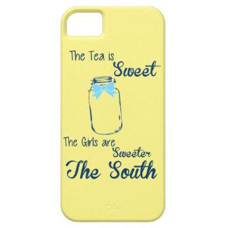 Süße Tee-Bonbon-Mädchen Barely There iPhone 5 Hülle
