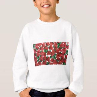 Süßer Erdbeergewebe-Druck Sweatshirt