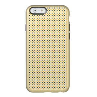 Süßer niedlicher Polka-Punkt iPhone 6 Feather® Incipio Feather® Shine iPhone 6 Hülle