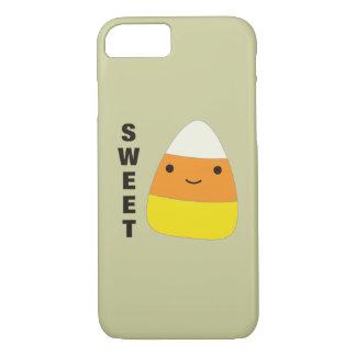 Süßer niedlicher Süßigkeits-Mais iPhone 7 Hülle