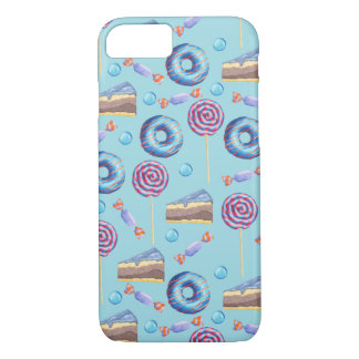 Süßes BlaubeerLeckerei-Muster iPhone 7 Hülle