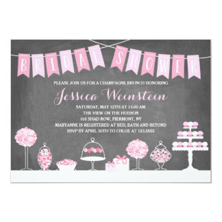 Süßes Brautparty der Leckerei-| 12,7 X 17,8 Cm Einladungskarte