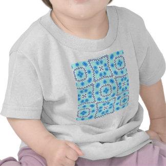 Süßes Gekritzel-Muster, lue (i) Hemd