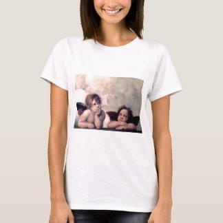 Süßes italienisches Engels-Renaissance-Meisterwerk T-Shirt