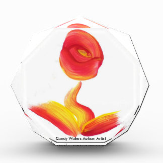 Süßigkeit wässert Autismus-Künstler Acryl Auszeichnung