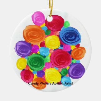 Süßigkeit wässert Autismus-Künstler Keramik Ornament