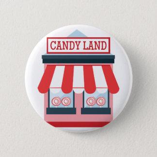 Süßigkeits-Land Runder Button 5,7 Cm