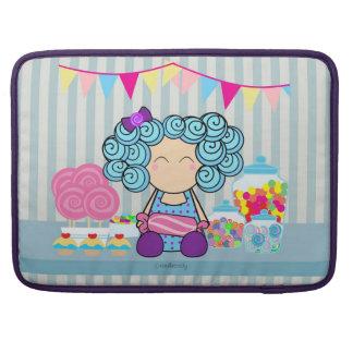 """Süßigkeits-Liebhaber 15"""" Macbook Prohülsen-Kasten Sleeve Für MacBook Pro"""
