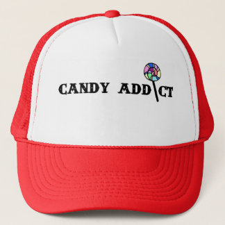 Süßigkeits-Süchtig-Fernlastfahrer-Hut Truckerkappe