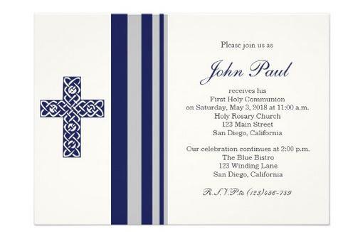Communion Invitations