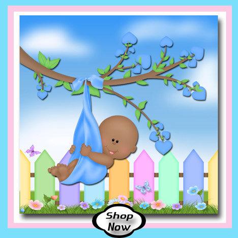 Black Baby Boy - Backyard Baby Gifts