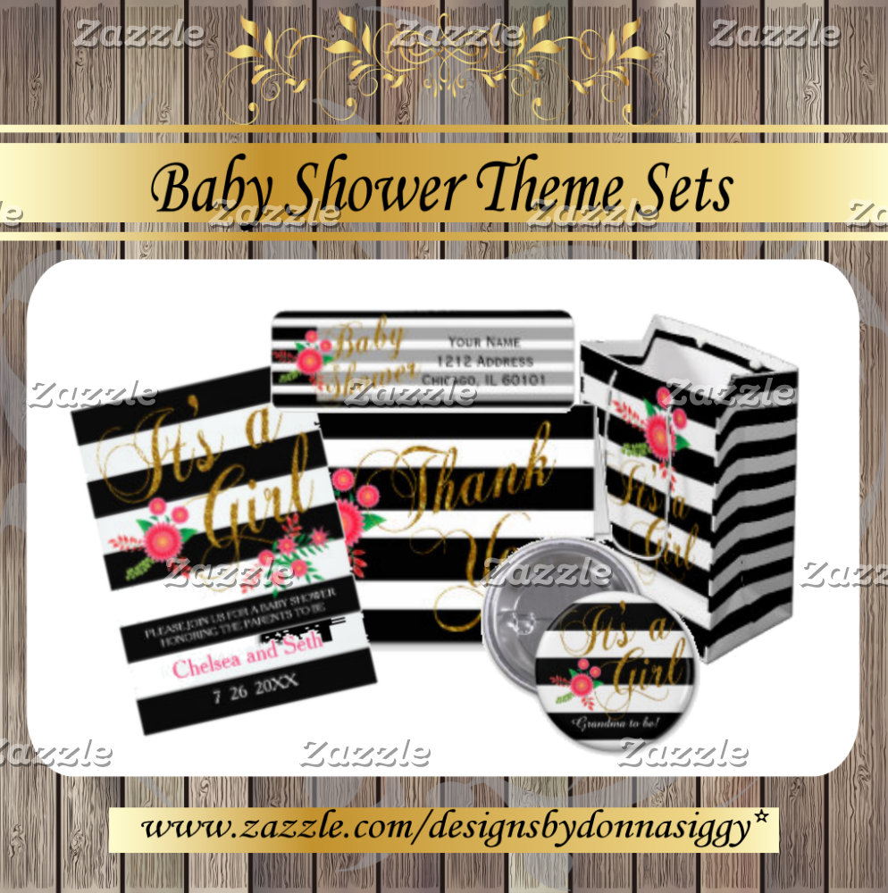 Baby Shower Themes and Matching Gifts