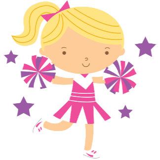 Cute Blonde Cheerleader