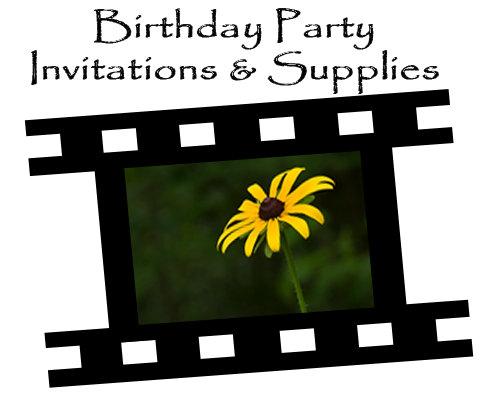 Birthday Party Invitations & Supplies