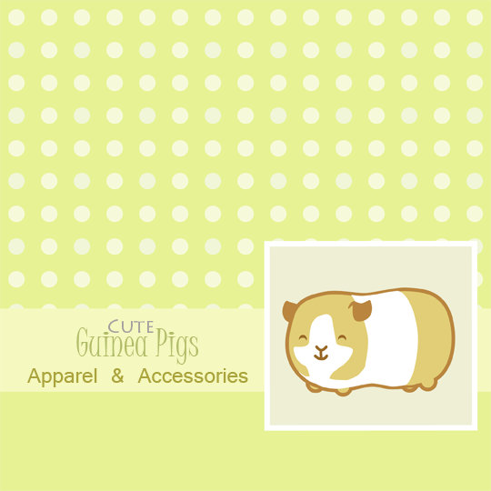 Cute Guinea Pig Apparel and Accessories