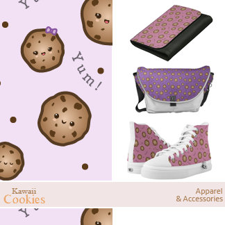 Kawaii Cookies Apparel and Accessories