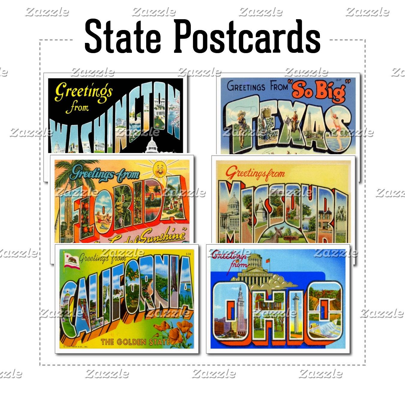 United States Postcards